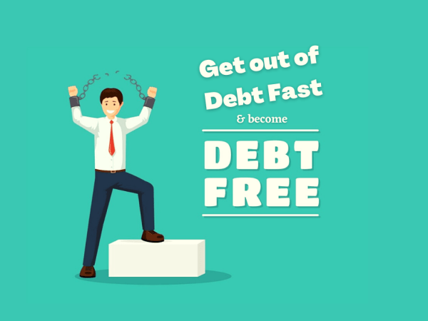 Ways to Get Out of Debt Fast in South Africa