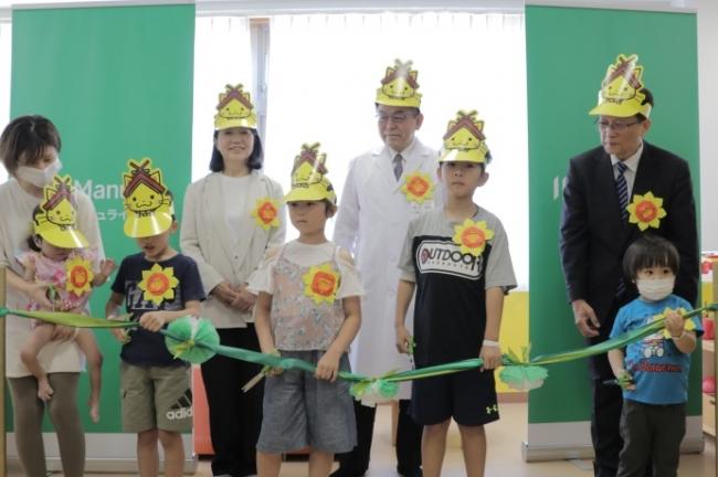 療養中の子どものためのプレイルーム『マニュライフわくわくるーむ』 国内最大級のスペースで島根大学医学部附属病院に開設