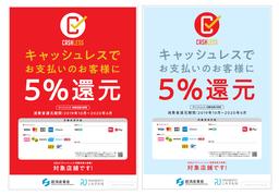 キャッシュレス・ポイント還元事業の 店頭用広報キットのデザインを公表