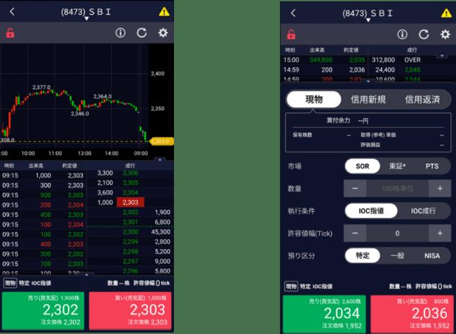 スマートフォンアプリ「SBI証券 株」アプリのバージョンアップのお知らせ
