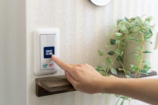 電源スイッチや自動ドアのタッチポイントにも。定期的に拭くだけで長期に渡って効果を発揮します。