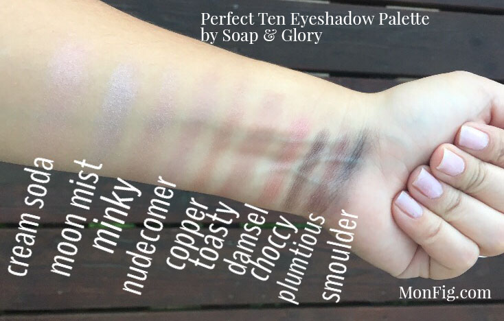 Eyeshadow Palette by Soap & Glory Review & Swatch