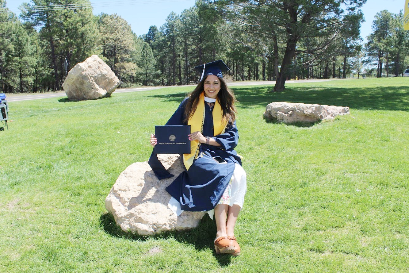 NAU Graduate School Graduation