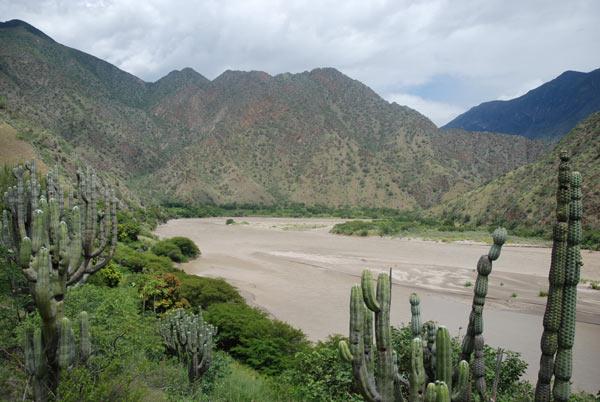 The middle Marañón valley. Credit: David Hill