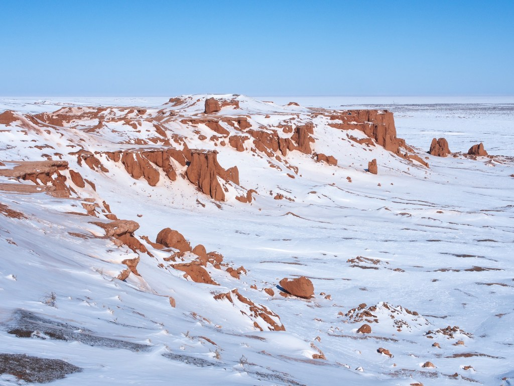The Frozen Cliffs – Institute for the Study of Mongolian