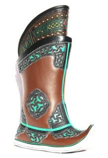 Mongolian Brown Boots 52 pattern