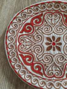 kazakh embroided placemat2