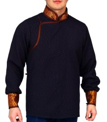 Mongolian-Men-Deel-T-Shirt