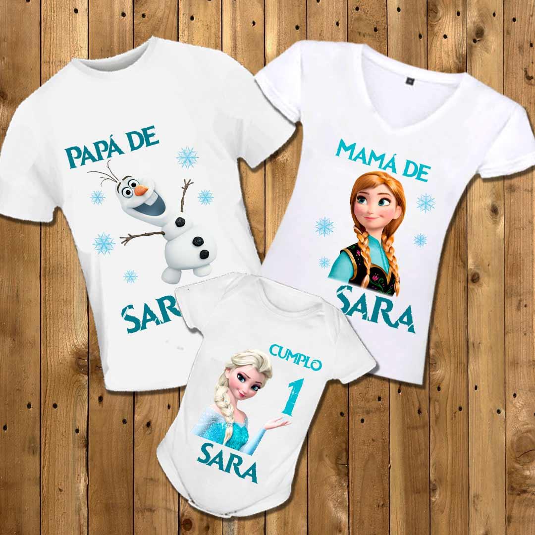 materiales superiores gran variedad de estilos seleccione para el más nuevo Camisetas personalizadas Familia Frozen | Mongoose Boutique