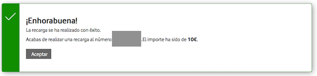 スペイン携帯のチャージ方法