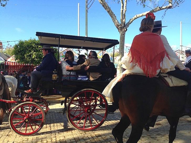 セビーリャのフェリア2016の馬車