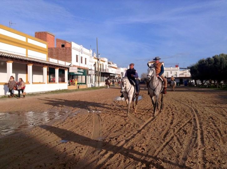 ロシオの巡礼祭と馬