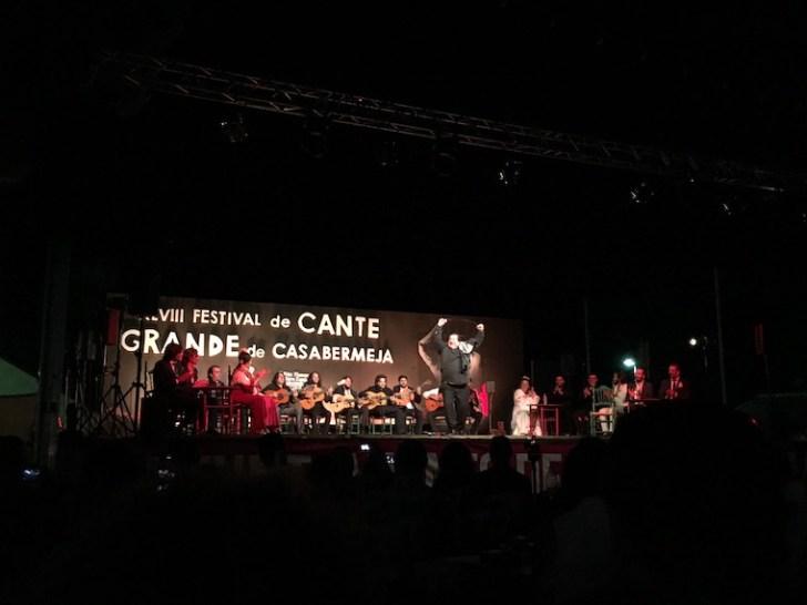 カサベルメハのフラメンコフェスティバル