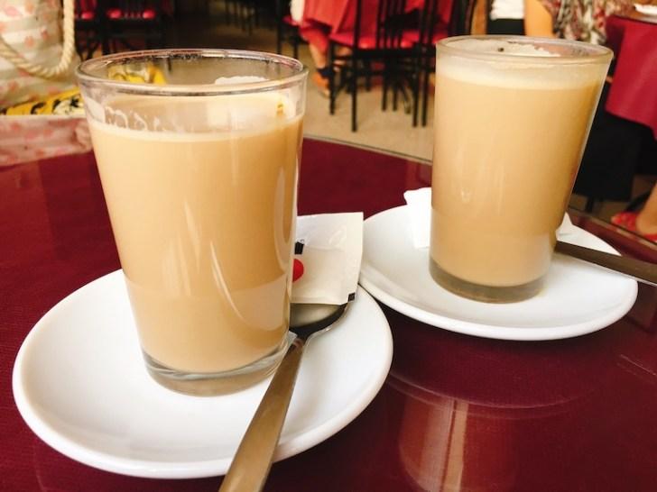 カサベルメハのバルのコーヒー
