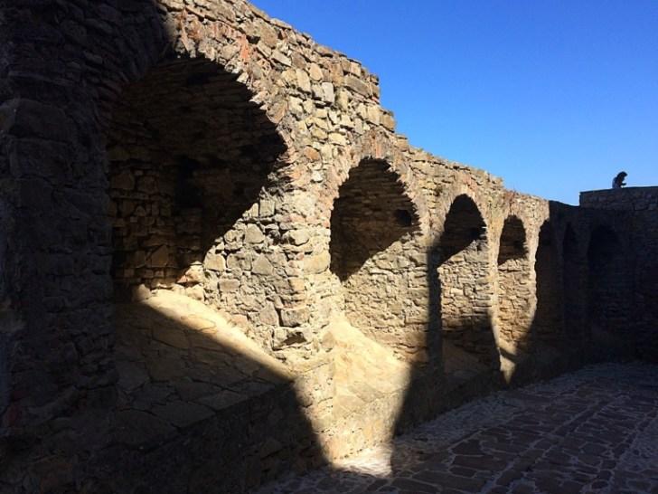カスティーリョデカステリャールの城壁