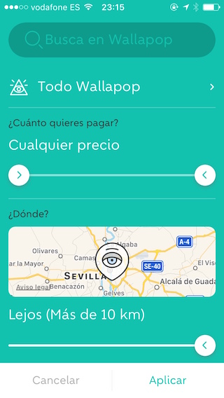 Wallapopの検索方法