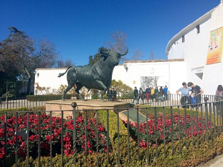 スペインロンダの闘牛場