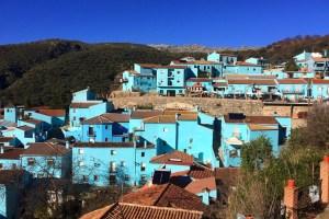 アンダルシアの青い村フスカル