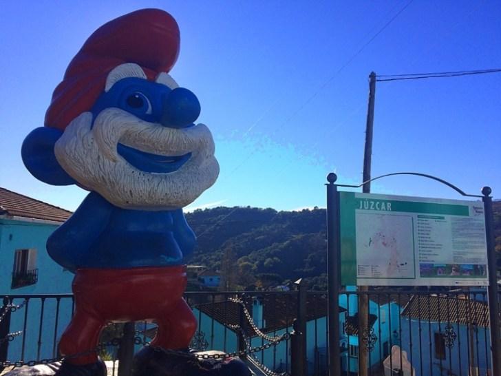 アンダルシアの青い村フスカルのスマーフ