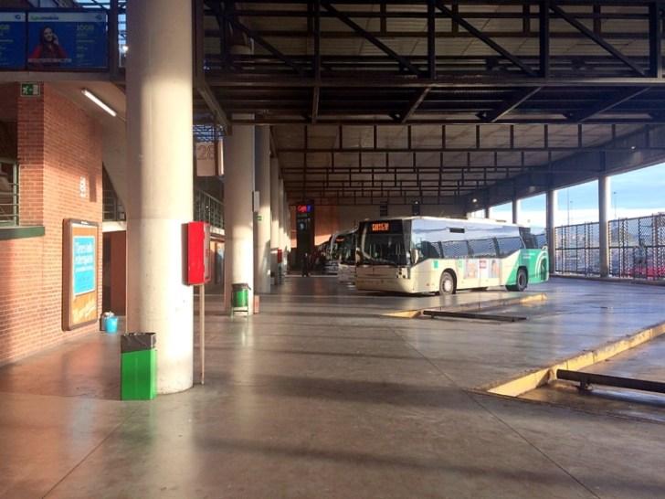 セビリアのプラサデアルマスバスターミナル