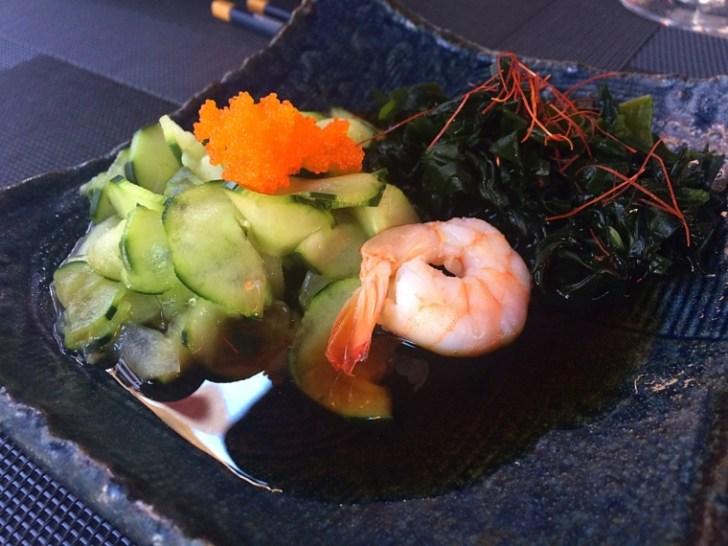 セビリア日本食レストラン山崎の酢の物