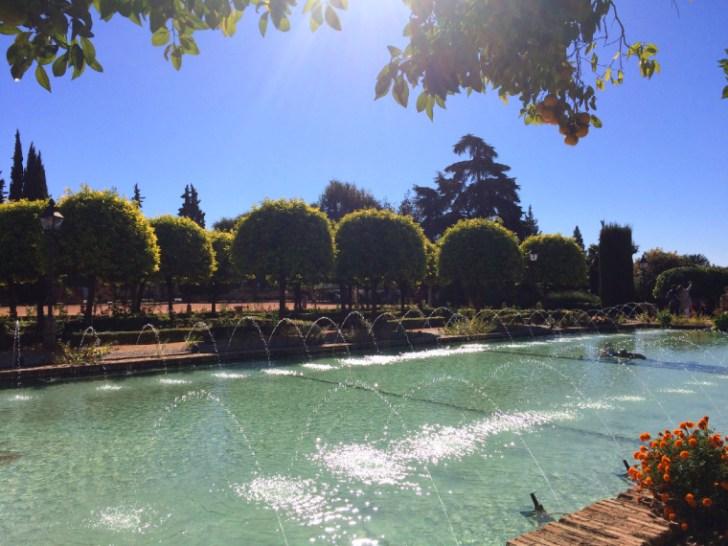 コルドバのアルカサルの庭園