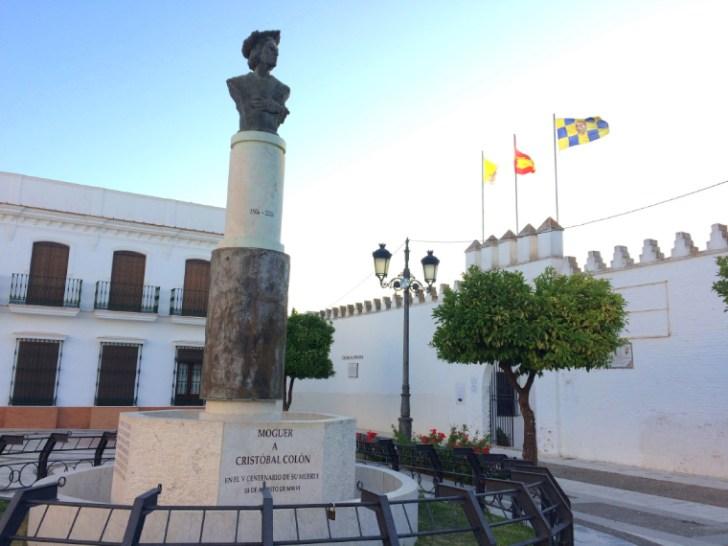 モゲルのコロンブスの像