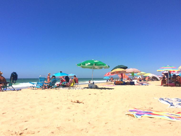 スペインのエル・パルマールのビーチ