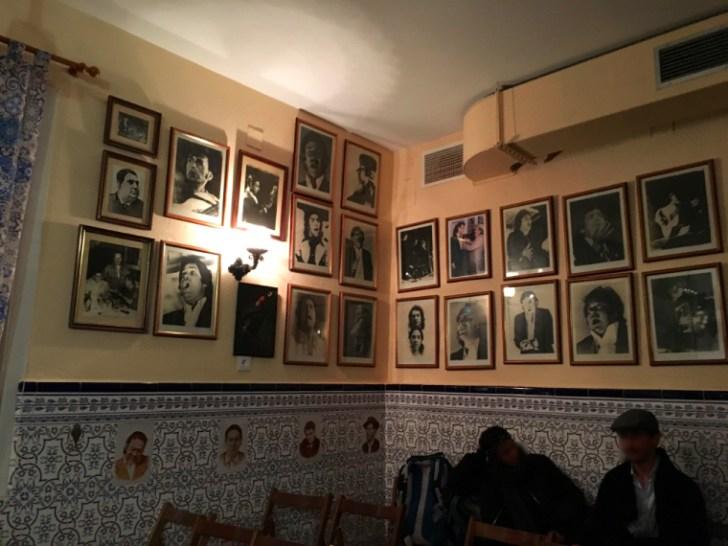 セビリアのペーニャ『トーレス・マカレナ』の壁の写真