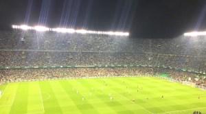 スペインで初サッカー観戦!ベティスvsバレンシア『コパ・デル・レイ』