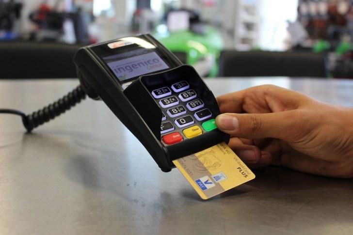 スペインのチップをクレジットカード払い