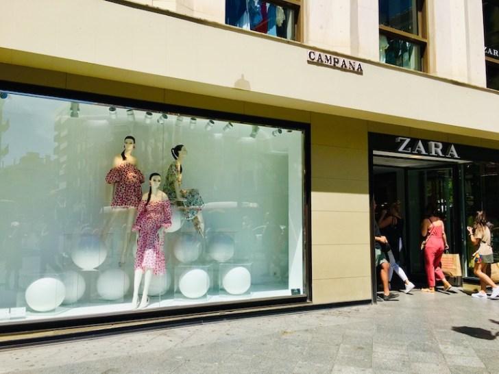 スペインのファストファッションブランド「ZARA」