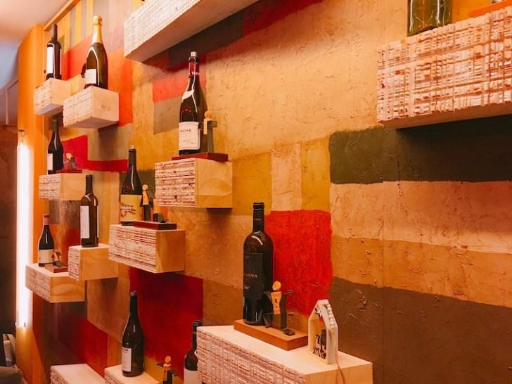 サンタンデールのレストラン「Querida Margarita」のワイン