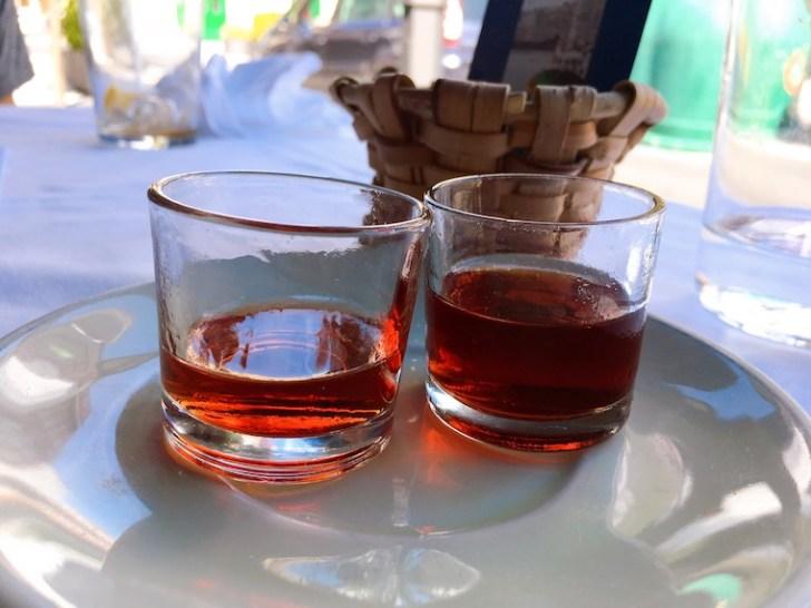 オンダリビア「hermandad de pescadores」の食後酒