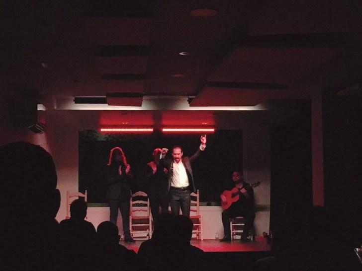 セビリアのタブラオ「ラ・カンタオーラ」のショー