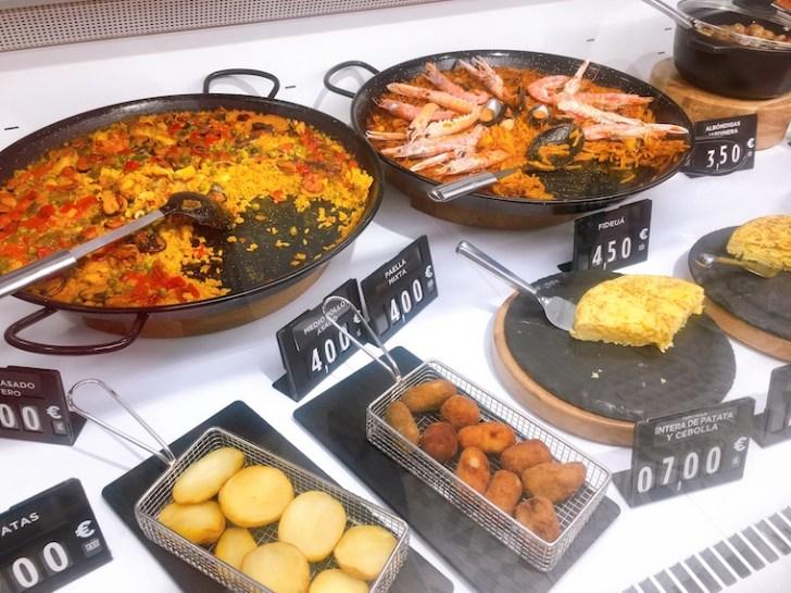 リニューアルされたメルカドーナのスペイン料理のお惣菜