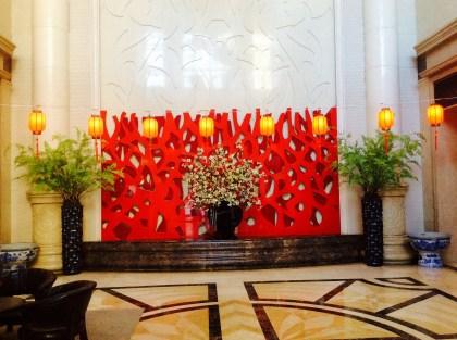 Dekorcja na chiński Nowy Rok