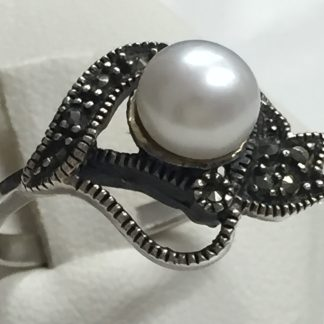 Anello perla vintage