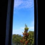 Vaade Naissaare tuletorni aknast
