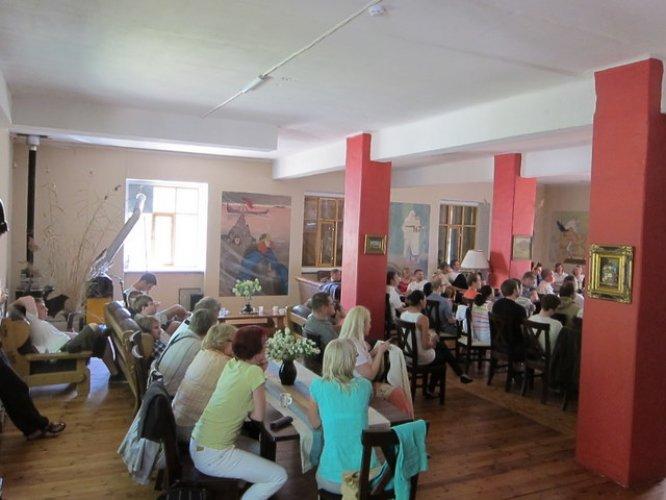 Seminarid Harjumaal - suur seminarisaal