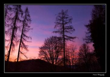 tramonti colorati