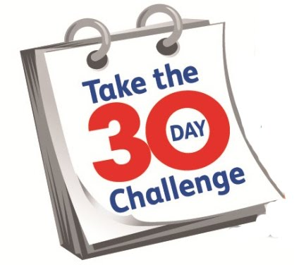 Take the 30 Day Challenge!