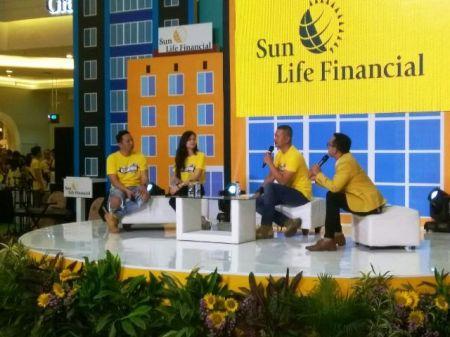 Agus Ringgo Dalam Talkshow di Acara Bright Education Sun Life Edufair 2017