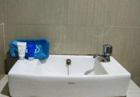 Perlengkapan Mandi Tersedia di Airy Rooms