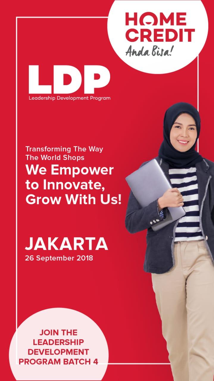 Lowongan Kerja 2018 Sebagai Asisten Manager Melalui Program LDP