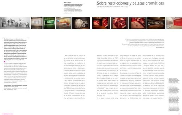 Revista Diseña nº8, El Color - Mónica Bengoa - 1