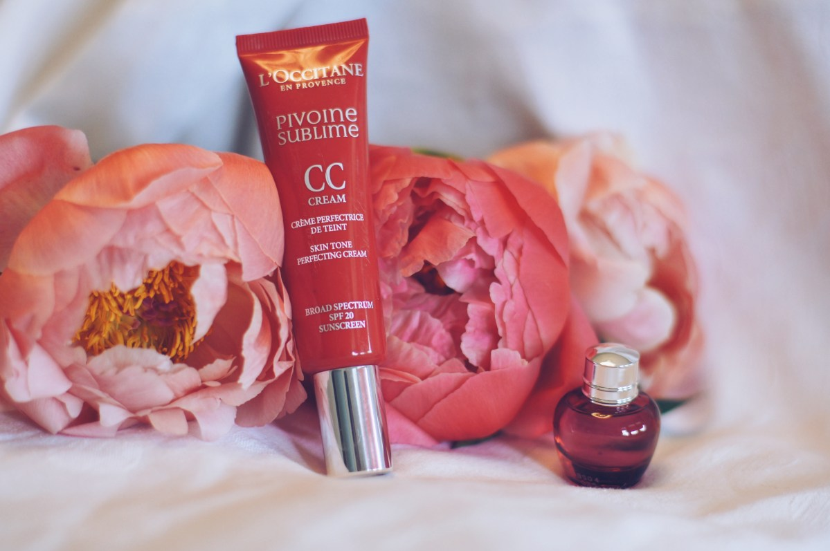 CC Cream PIVOINE SUBLIME de L'Occitane