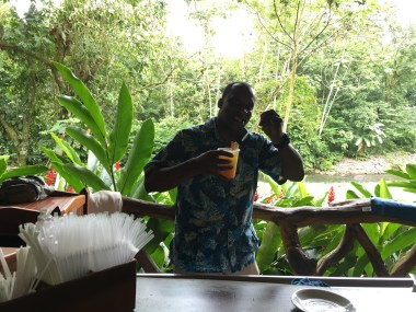 Our favorite bartender Gerry