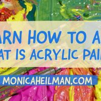 Learn How to Art: What is Acrylic Paint?