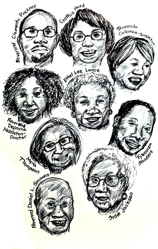 Why do art Emanuel AME portraits